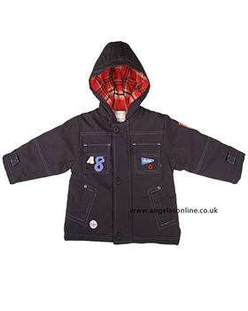 Everyday Kids Boys Navy Jacket 7102