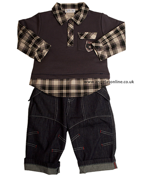 Everyday Kids Baby Boys 2 Piece Outfit 7108