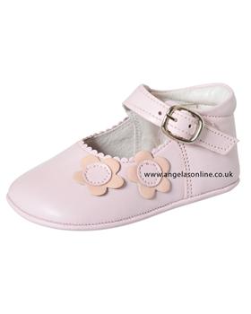 Andanines Baby Girl Pale Pink Shoe C10005