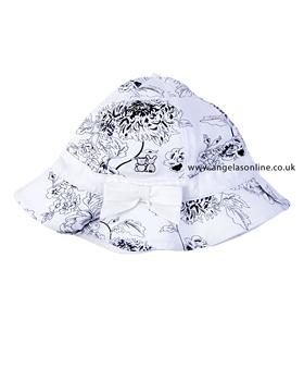 Emile et Rose Girls Sun Hat Aster 4633nv