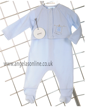 Absorba Boys Pale Blue Babygro | Jacket 9336001