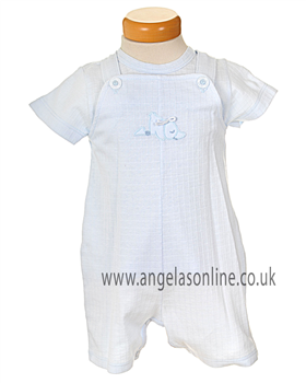 Valenri Baby Boys 2 Pc Dungaree Set 6111
