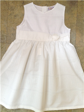Dizzy Daisy Girls White Dress 6116B