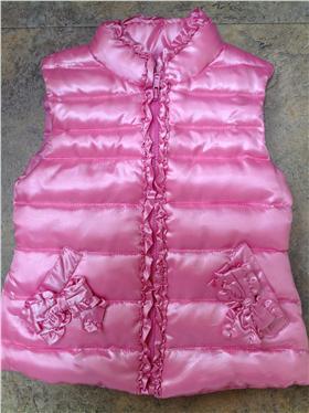 Kate Mack Girls Pink Gilet 603TFC