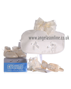 Christening Accessories - Shoes/Bibs/Headbands/Socks 000