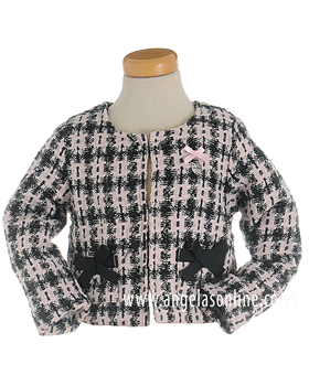 S&D Le Chic Girls Tweed Jacket 23085845