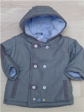 Everyday Kids Baby Boys Padded Jacket 9028