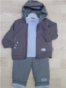 Everyday Kids Pequilino Three Piece Set 9030