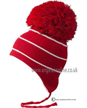 Satila Hat Bobby Red and White Stripe C82912