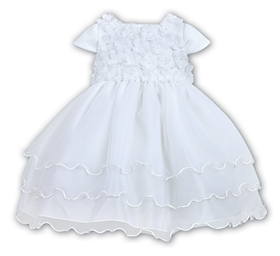 Sarah Louise Christening dress 9409 White