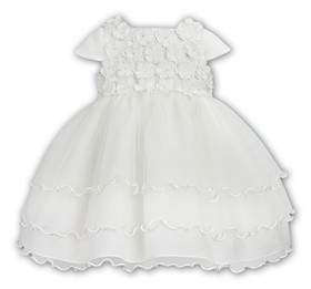 Sarah Louise Christening Dress 9409 Ivory