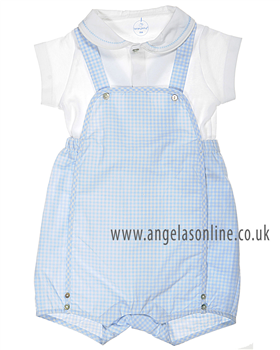 Laranjhina Boys Shirt/Dungaree V4278/4221 Blue
