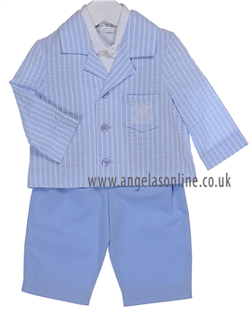 Little Darlings Boys 3 Pce TS8850 Blue