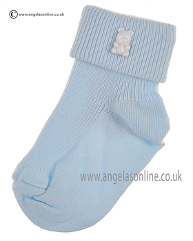 Boys Sock 125/1 bl/wh/ted
