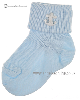 Boys Sock 125/2 bl/wh/anc