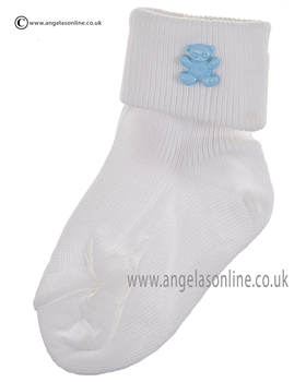 Boys Sock 125/4 wh/bl/ted