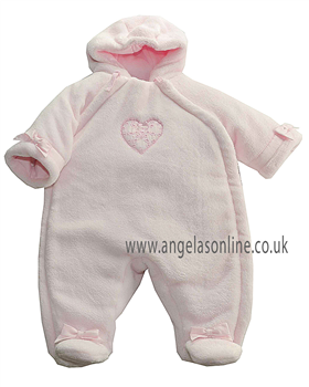 Emile et Rose Baby Girl Fleece Snowsuit Delma 1586pp