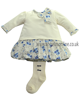 Emile et Rose Navy Girls Dress Dacia 6241nv