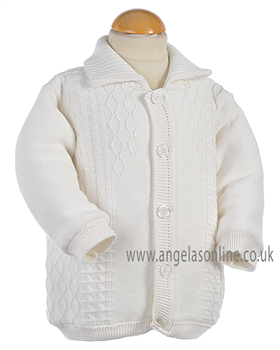 Pretty Originals Baby Boys Jacket JP95120 Cream