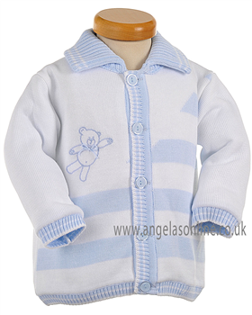 Pretty Originals Baby Boys Jacket JP90120 WH/BL