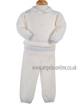Pretty Originals Boys Jumper & Trouser JP91180 CR/BL