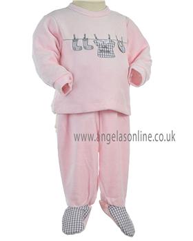 Tutto Piccolo Girls 2 Pce 6289 Pink