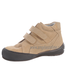 Andanines Boys Sand Coloured Smart Suede Winter Boot 34001