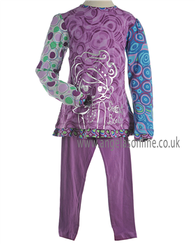 Mayoral Girls Winter Long Sleeved Purple Top and Leggings 24742