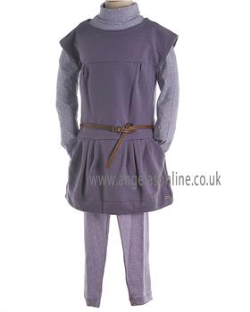 Mayoral Girls 3 Piece Purple/Lilic Legging Set 4931