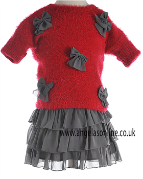 Deux Par Deux Girls Jumper & Skirt MT71/M81