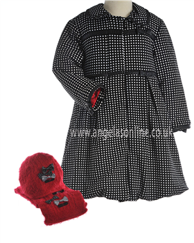 Deux Par Deux Girls Coat E57/111