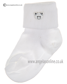 Boys Sock 125/9 wh/wh/ted