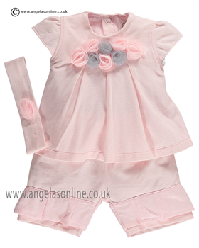 Emile et Rose Baby Girls Top and Shorts Esther 5290pp