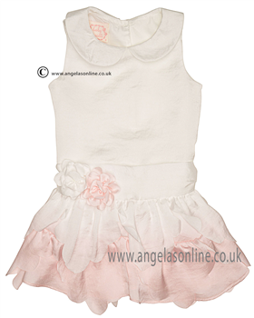 Kate Mack Baby Dress 331BGA Ivory