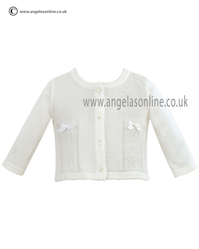 Sarah Louise Cardigan 9722 White