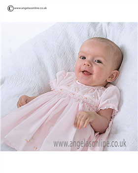 Sarah Louise Baby Dress 9678 PK/PK