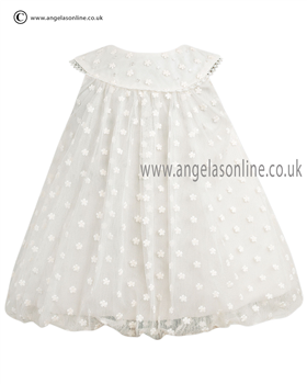 Sarah Louise Baby Dress 9773 Ivory