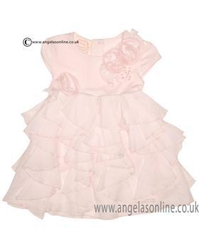 Kate Mack Girls Dress 334BGA Pink