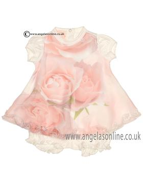 Kate Mack Baby Girls Dress & Bloomers 393RC1N IV