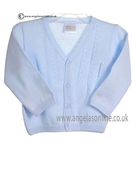Pex Boys Oliver Cardigan B5907 Blue