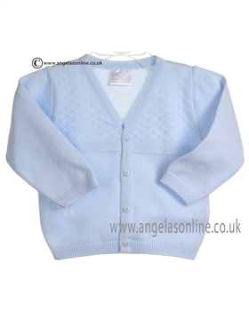 Pex William Baby Boys Blue Cardigan B5890
