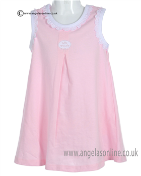 Tutto Piccolo Baby Girls Pink Dress & Panty 7786
