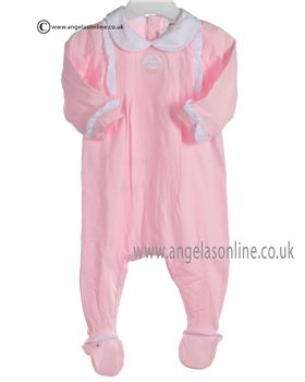 Tutto Piccolo Baby Girls Pink All in One 7187