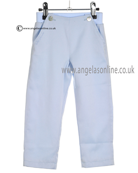 Tutto Piccolo Baby Boys Pale Blue Trousers 7123