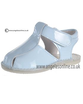 Pretty Originals Baby Boys Pale Blue Sandal UE01262