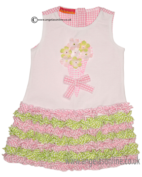 Kate Mack Girls Pink Dress 709GSA