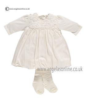 Emile et Rose Baby Girls Dress & Tights Fantasia 6267iv