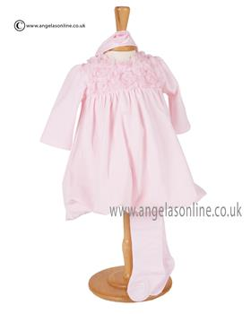 Emile et Rose Baby Girls Dress & Tights Fantasia 6267pp