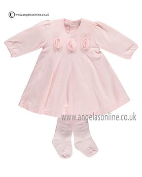 Emile et Rose Baby Girls Dress & Tights Fifi 6269pp