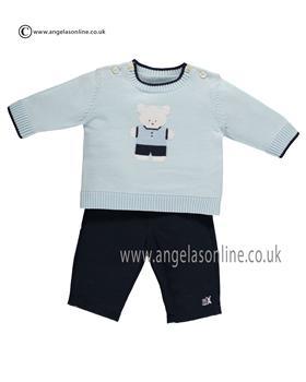 Emile et Rose Baby Boys Top Trouser & Hat Frank 6367pb